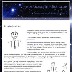 Spirit art, psychic drawing, automatic writing, psychic reading