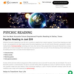 Psychic Reading - Psychic Ramnath