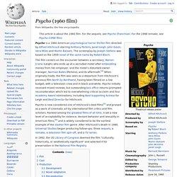 Psycho (1960 film)