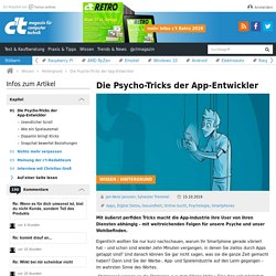 Die Psycho-Tricks der App-Entwickler