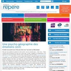 psycho-géographie des émotions avec la PNL - 2/3
