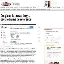 Google et la presse belge, psychodrame de référence