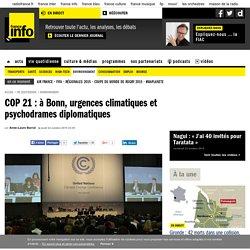 COP 21 : à Bonn, urgences climatiques et psychodrames diplomatiques