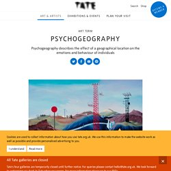 Psychogeography – Art Term