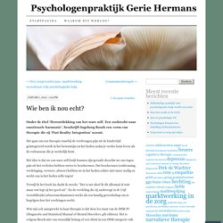 Psychologenpraktijk Gerie Hermans