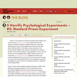 5 Horrific Psychological Experiments – #2: Stanford Prison Experiment