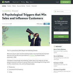 6 Psychological Triggers that Win Sales and Influence Customers — Ecommerce Marketing Blog - Ecommerce News, Online Store Tips & More by Shopify