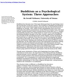Buddhism as a Psychological System, by G. Virtbauer