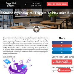 8 Online Psychological Triggers to Maximize Business Success