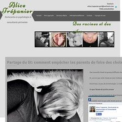 Alice Trépanier, Doctorante en psychologie et Consultante périnatale