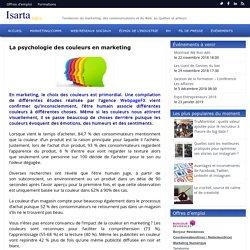 La psychologie des couleurs en marketing