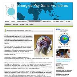 Psycho-énergétique et sophrologie -