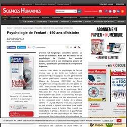 Psychologie de l'enfant : 150 ans d'histoire