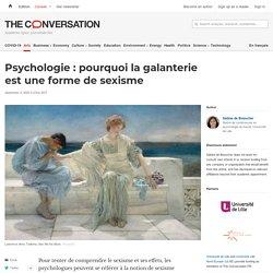 Psychologie : pourquoi la galanterie est une forme de sexisme