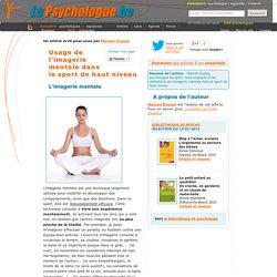 Psychologie du sport: imagerie mentale et sport de haut niveau