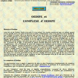 complexe oedipe stade oedipien angoisse castration psychologie psychiatrie psychanalyse theorie