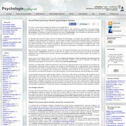 Ce qu'il faut savoir pour devenir psychologue clinicien