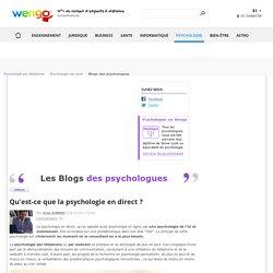 Qu'est-ce que la psychologie en direct ?