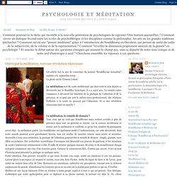Guérir par la méditation, vers une révolution silencieuse