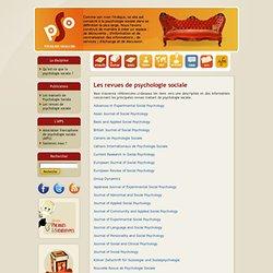 org: Les revues de psychologie sociale