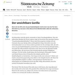 Psychologie - Der unsichtbare Gorilla