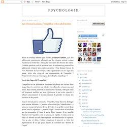 Les réseaux sociaux, l'empathie et les adolescents