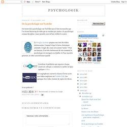 De la psychologie sur Youtube