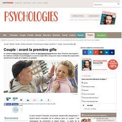 Violence psychologique dans le couple - Violence conjugale