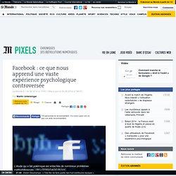 Facebook : ce que nous apprend une vaste expérience psychologique controversée