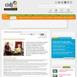 Aide médico-psychologique : études, métier, diplômes, salaire, formation