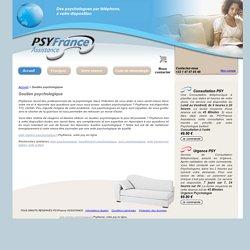 Soutien psychologique - Psyfrance : votre soutien psychologique sur Internet