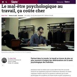 Le mal-être psychologique au travail, ça coûte cher