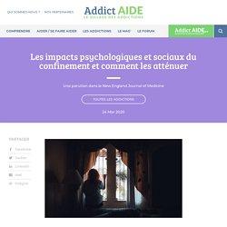 Les impacts psychologiques et sociaux du confinement et comment les atténuer