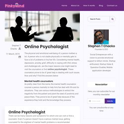 online counselling India - Pinkymind