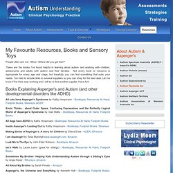 Clinical Psychologist Newcastle - My Favourite Resources, Books and Sensory Toys