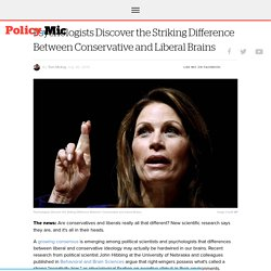 Psychologists Discover the Striking Difference Between Conservative and Liberal Brains