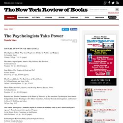 The Psychologists Take Power by Tamsin Shaw