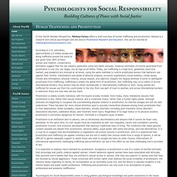 Psychologists for Social Responsibliity