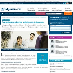 Psychologue protection judiciaire de la jeunesse