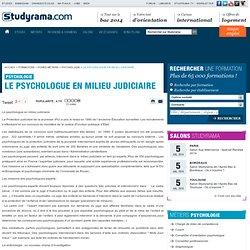 Le psychologue en milieu judiciaire