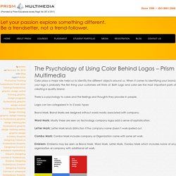 The Psychology of Using Color Behind Logos – Prism Multimedia
