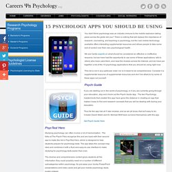 Top Psychology Apps in 2012