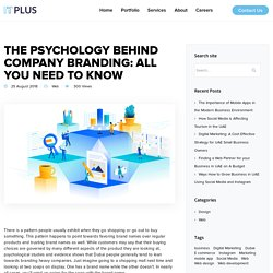 The Psychology Behind Company Branding: All You Need to Know - Web Design Dubai, Web Development in UAE