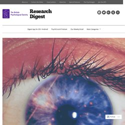 The Psychology of Eye Contact, Digested – Research Digest