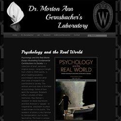 Dr. Morton Ann Gernsbacher's Laboratory
