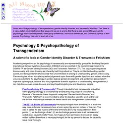 research paper of gender and identification This sample domestic violence, sexual orientation, and gender identity research paper features 3700 words (12 pages) and a bibliography with 23 sources.