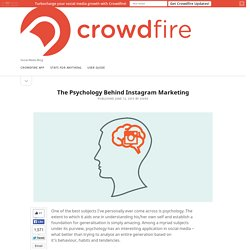 The Psychology Behind Instagram Marketing