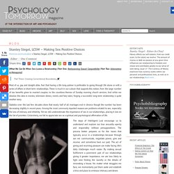 Stanley Siegel, LCSW - Making Sex Positive Choices - Psychology Tomorrow MagazinePsychology Tomorrow Magazine