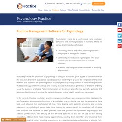 Psychology Practice Management Software in NSW