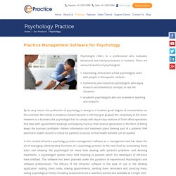 Looking for Psychology Practice Management Software?